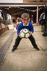 Homes for Haringey & Keepmoat Regeneration community event, London Borough of Haringey, London UK - facepainting