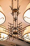 Lobby bar at The Pottinger hotel