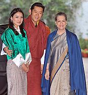 King & Queen of Bhutan Visit India