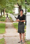 9/17/2010 U-M Flint classroom and campus stock photography