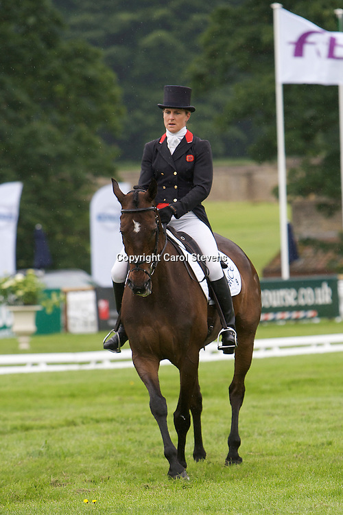 Kristina Cook riding Regal Red<br /> Equi-Trek Bramham International Horse Trials  CCI*** Dressage