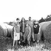 2015 Brockman Family (BW Film)