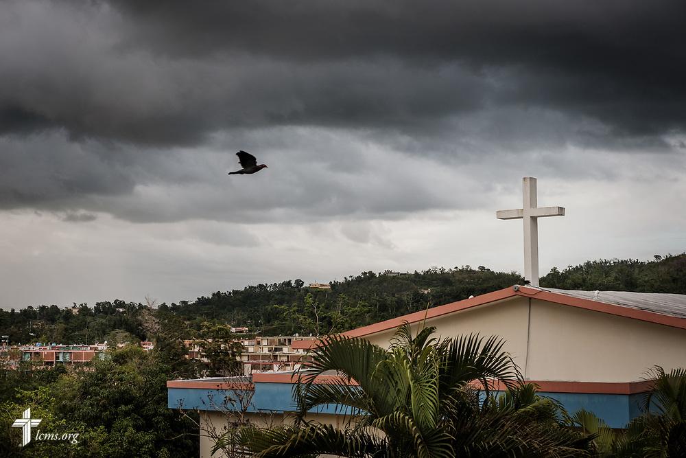 Exterior photograph of Iglesia Luterana Principe de Paz (Prince of Peace Lutheran Church), Mayagüez, Puerto Rico, on Monday, April 16, 2018. LCMS Communications/Erik M. Lunsford