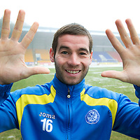 St Johnstone's Peter MacDonald who has signed a new contract which will see him reach 10 years at McDiarmid Park....30.12.10<br /> see story by Gordon Bannerman Tel: 07729 865788<br /> Picture by Graeme Hart.<br /> Copyright Perthshire Picture Agency<br /> Tel: 01738 623350  Mobile: 07990 594431