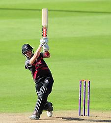 Ryan Davies of Somerset in action.  - Mandatory by-line: Alex Davidson/JMP - 29/08/2016 - CRICKET - Edgbaston - Birmingham, United Kingdom - Warwickshire v Somerset - Royal London One Day Cup semi final