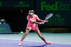 March 22, 2018 - Key Biscayne, FL, U.S. - KEY BISCAYNE, FL - MARCH 22: Victoria Azarenka (BLR) in action on Day 4 of the Miami Open on March 22, 2018, at Crandon Park Tennis Center in Key Biscayne, FL. (Photo by Aaron Gilbert/Icon Sportswire) (Credit Image: © Aaron Gilbert/Icon SMI via ZUMA Press)