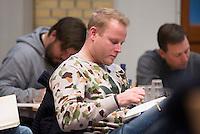 SOESTERBERG -  Bondscoach Sjoerd Marijne  tijdens het Technisch Kader congres 2015 olv Topcoach Koen Gonnissen. COPYRIGHT KOEN SUYK