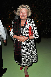 DAME VIVIEN DUFFIELD at a dinner hosted by Cartier in celebration of the Chelsea Flower Show held at Battersea Power Station, 188 Kirtling Street, London SW8 on 23rd May 2011.