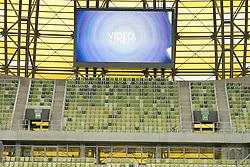 13.08.2011, PGE Arena, Gdansk, POL, UEFA Euro 2012, Stadion PGE Arena Gdansk, im Bild Features aus der Neu errichteten Stadion Baltic Arena in Danzig, Die PGE Arena Gda?sk ist ein Fußballstadion in der polnischen, an der Ostsee gelegenen Stadt Danzig (polnisch: Gda?sk). Es wurde als eines von acht Stadien für die Fußball-Europameisterschaft 2012 errichtet. Bei der EURO 2012 ist der Spielort für drei Gruppenspiele und ein Viertelfinale des Turniers vorgesehen. EXPA Pictures © 2011, PhotoCredit: EXPA/ Newspix/ Wojciech Figurski +++++ ATTENTION - FOR AUSTRIA/(AUT), SLOVENIA/(SLO), SERBIA/(SRB), CROATIA/(CRO), SWISS/(SUI) and SWEDEN/(SWE) CLIENT ONLY +++++