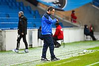 Deception Philippe BIZEUL  - 12.12.2014 - Le Havre / Laval - 17eme journee de Ligue 2 <br /> Photo : Fred Porcu / Icon Sport