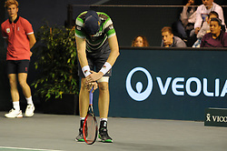 October 31, 2018 - France - Rolex Masters Paris 2018 - John Isner - Usa (Credit Image: © Panoramic via ZUMA Press)