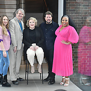 Photocall: 'Hairspray the Musical' with Rita Simons, Paul Merton, Lizzie Bea, Michael Ball and Marisha Wallace at Boulevard Theatre, 18th February 2020, London, UK.