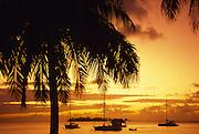 Sunset, Bora Bora, French Polynesia<br />