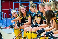 AMSTERDAM  - teambespreking Den Bosch tijdens het starttoernooi zaalhockey in Sporthallen Zuid.    COPYRIGHT KOEN SUYK