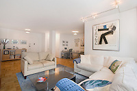 Living Room at 301 East 69th Street