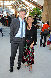 LORD & LADY HOLLICK at a party at the Serpentine Gallery, Kensington Gardens, London to unveil their summer Pavilion designed by Frank Gehry on 20th July 2008.<br /> <br /> NON EXCLUSIVE - WORLD RIGHTS
