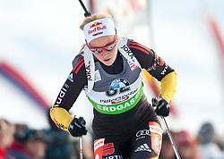 09.12.2011, Biathlonzentrum, Hochfilzen, AUT, E.ON IBU Weltcup, 2. Biathlon, Herren 10km Sprint, im Bild Miriam Gössner (GER) // Miriam Gössner of Germany during men 10km Sprint at E.ON IBU Worldcup 2th Biathlon, Hochfilzen, Austria on 2011/12/09. EXPA Pictures © 2011, PhotoCredit: EXPA/ Johann Groder