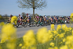 Second group on the road with two laps to go on Stage 2 of Festival Elsy Jacobs 2017. A 111.1 km road race on April 30th 2017, starting and finishing in Garnich, Luxembourg. (Photo by Sean Robinson/Velofocus)