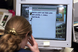 Special Reports global e-mail abuse, May 24, 2000. Photo by Andrew Parsons / i-images..