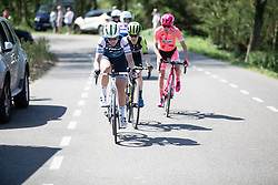Elisa Longo-Borghini (ITA) of Trek-Segafredo rides on the front during the Amstel Gold Race - Ladies Edition - a 126.8 km road race, between Maastricht and Valkenburg on April 21, 2019, in Limburg, Netherlands. (Photo by Balint Hamvas/Velofocus.com)