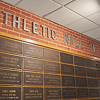 2016 Athletics Wall of Fame Signs Logo
