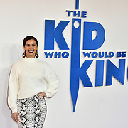 Arrives at The Kid Who Would Be King on 3 February 2019 at ODEON Luxe Leicester Square, London, UK.
