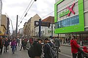 Mannheim. 20.03.17   BILD- ID 058  <br /> Innenstadt. K1. M&ouml;max. Schliessung der Filiale am Neckartor in der Breiten Stra&szlig;e steht bevor.<br /> <br /> Bild: Markus Prosswitz 20MAR17 / masterpress (Bild ist honorarpflichtig - No Model Release!)