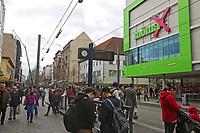Mannheim. 20.03.17 | BILD- ID 058 |<br /> Innenstadt. K1. M&ouml;max. Schliessung der Filiale am Neckartor in der Breiten Stra&szlig;e steht bevor.<br /> <br /> Bild: Markus Prosswitz 20MAR17 / masterpress (Bild ist honorarpflichtig - No Model Release!)
