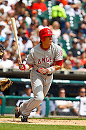 May 1, 2010:  Los Angeles Angels' Hideki Matsui (55) during the MLB baseball game between the Los Angeles Angels vs Detroit Tigers at  Comerica Park in Detroit, Michigan. Tiger defeated the Angels 3-2.