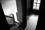 In the attic Fort Tryon Cottage, dating from 1908, was originally the Gatehouse of the G.K. Billings Estate and Mansion which was located at what is now Linden Terrace in Fort Tryon Park.