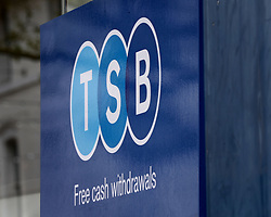 """EMBARGOED TO 0001 MONDAY APRIL 15 File photo dated 24/04/18 of a TSB sign. TSB has announced a new """"fraud refund guarantee"""" to ensure its 5.2 million customers are protected if they are an innocent victim of a scam."""