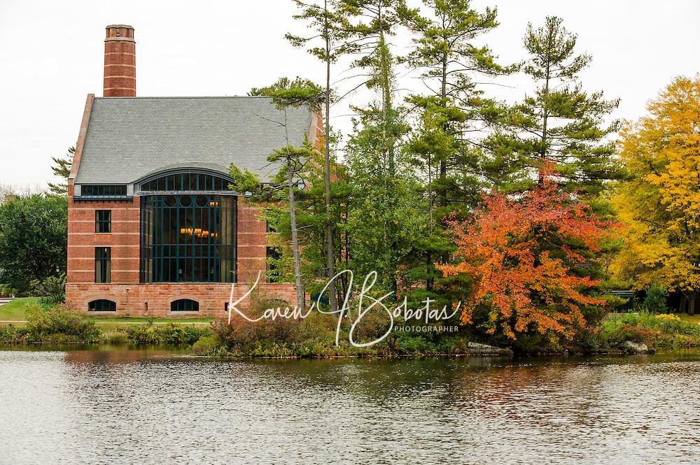 St Pauls's School Trails in the Fall.  ©2014 Karen Bobotas Photographer