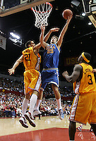 29 January 2005: Matt McKinney of UCLA makes a layup as  UCLA beat USC 72-69 at the Sports Arena in Los Angeles, CA