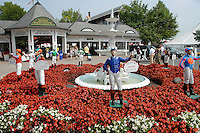 Saratoga Race Tracks' Main Gate
