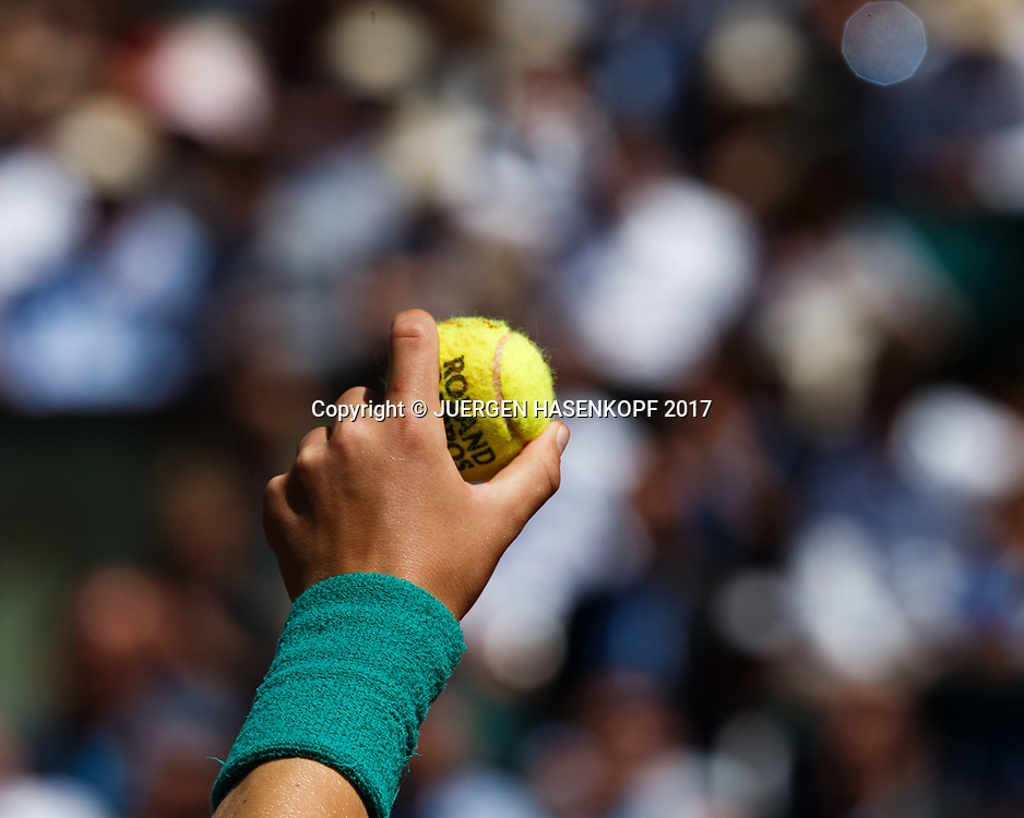 French Open 2017 Feature<br /> <br /> Tennis - French Open 2017 - Grand Slam / ATP / WTA / ITF -  Roland Garros - Paris -  - France  - 7 June 2017.