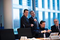 DEU, Deutschland, Germany, Berlin, 31.01.2018: Der neue Vorsitzende des Rechtsausschusses Stephan Brandner (MdB, Alternative für Deutschland, AfD) vor der konstituierenden Sitzung des Rechtsausschusses im Deutschen Bundestag.