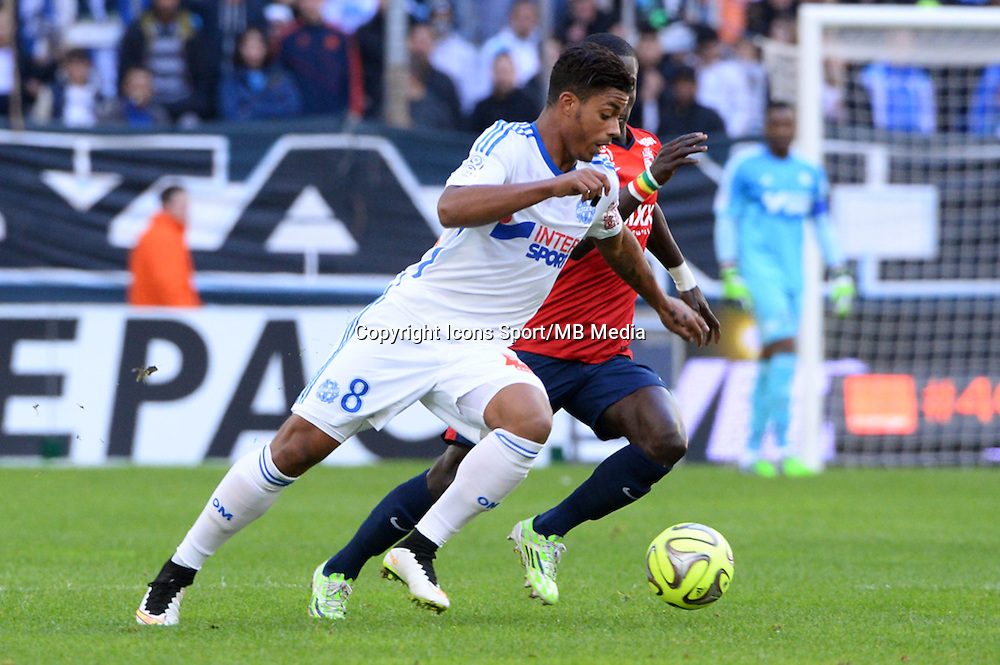 Mario LEMINA - 21.12.2014 - Marseille / Lille - 19eme journee de Ligue 1 -<br />
