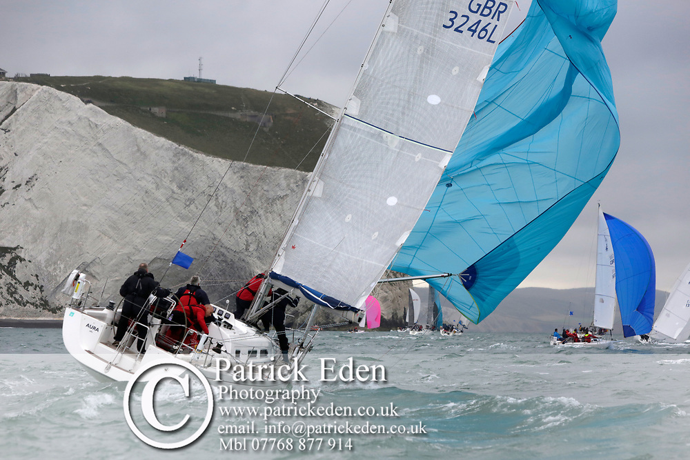 2017, July 1, Round the island Race, Round the Island Race, UK, Isle of Wight, Cowes, GBR 3246L, AURA,
