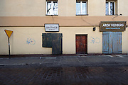 Storefront on Szeroka, Kasimierz jewish district, Krakow, Poland