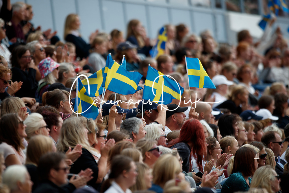 Swedish supporters<br /> FEI European Driessage Championships - Goteborg 2017 <br /> &copy; Hippo Foto - Dirk Caremans<br /> 26/08/2017,