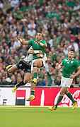Wembley, Great Britain, Simon ZEBO,  during the Pool D Game, Ireland vs Romania.  2015 Rugby World Cup, Venue, Wembley Stadium, London, ENGLAND.  Sunday  27/09/2015 <br /> <br /> Mandatory Credit; Peter Spurrier/Intersport-images]