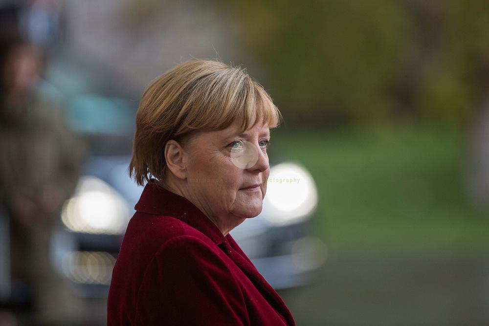 BERLIN, 17.11.2916 / Bundeskanzlerin Angela Merkel empfaengt den scheidenden US-Praesidenten zu Gespraechen im Bundeskanzleramt.
