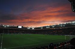 A beautiful sky sets over the St Mary's Stadium.  - Photo mandatory by-line: Alex James/JMP - Mobile: 07966 386802 - 20/12/2014 - SPORT - Football - Southampton  - St Mary's Stadium - Southampton  v Everton - Football