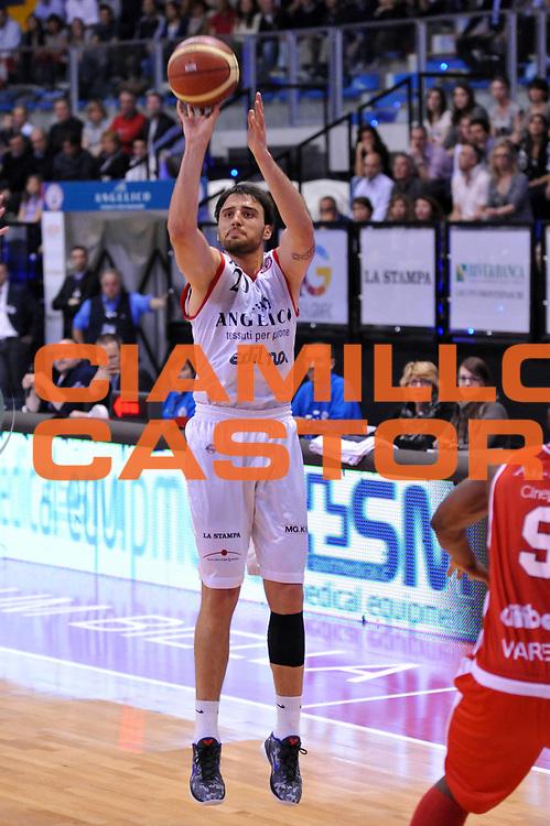 DESCRIZIONE : Biella Lega A 2011-12 Angelico Biella Cimberio Varese<br /> GIOCATORE : Tadja Dragicevic<br /> CATEGORIA : Tiro<br /> SQUADRA : Angelico Biella<br /> EVENTO : Campionato Lega A 2011-2012<br /> GARA : Angelico Biella Cimberio Varese<br /> DATA : 09/04/2012<br /> SPORT : Pallacanestro<br /> AUTORE : Agenzia Ciamillo-Castoria/S.Ceretti<br /> Galleria : Lega Basket A 2011-2012<br /> Fotonotizia : Biella Lega A 2011-12 Angelico Biella Cimberio Varese<br /> Predefinita :