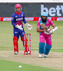 Durban. 181118.  Hashim Amla of the Durban Heat during the Mzansi Super League match between Durban Heat and Cape Town Blitz at Sahara Stadium Kingsmead on November 18, 2018 in Durban, South Africa. Picture Leon Lestrade. African News Agency. ( ANA ).