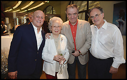 L to R Ronald O.Perelman, Countess Ceschina, Conductor Valery Gergiev, Sir Clive Gillinson attend the National Youth Orchestra of The United States of America Reception at the <br /> The Royal Albert Hall hosted be Ronald O.Perelman, London, United Kingdom,<br /> Sunday, 21st July 2013<br /> Picture by Andrew Parsons / i-Images