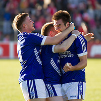 Cratloe players celebrate after their Senior Football Final win