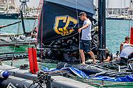 31-7-2017 PALMA DE MALLORCA - Pierre Casiraghi Monaco  with team MaLIZIA they compete in the 36th King's Sailing Cup in Palma de Mallorca, Mallorca island, Balearic Islands, Spain, 31 July 2017 COPYRIGHT ROBIN UTRECHT <br /> <br /> 31-7-2017 PALMA DE MALLORCA - Spanje's Koning Felipe VI en bemanningsleden van Aifos-schip als ze zeilen  in de 36e Koning Zeilbeker in Palma de Mallorca, Mallorca eiland, Balearen, Spanje, 31 juli 2017 COPYRIGHT ROBIN UTRECHT