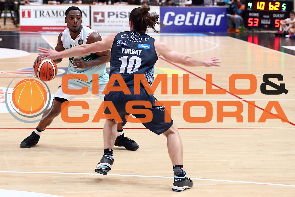 Ragland Joe<br /> Dolomiti Energia Trentino vs Sidigas Avellino<br /> Lega Basket Serie A 2016/2017<br /> Trento, 07/05/2017<br /> Foto Ciamillo-Castoria/A. Gilardi