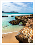 View from the southern end of Durras Beach towards Point Upright [Durras Beach, NSW]<br />